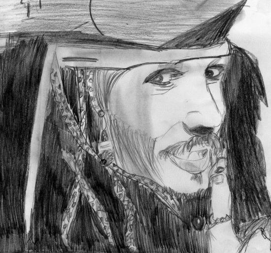 Johnny Depp by aliciab